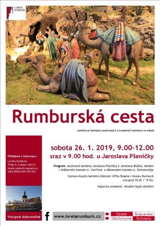 Rumburská cesta 2019 pěší putování za betlémy