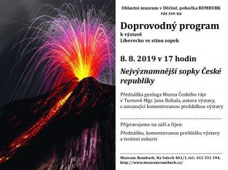 Nejvýznamnější sopky České republiky
