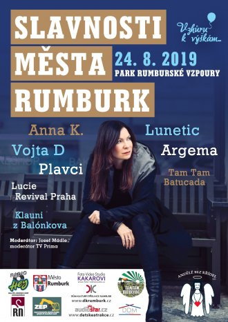 SLAVNOSTI MĚSTA RUMBURK 2019