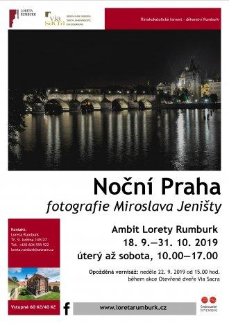 Výstava fotografií Noční Praha