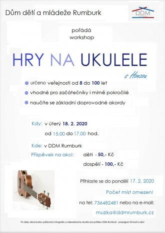 WORKSHOP HRY NA UKULELE