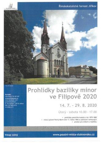 Prohlídky baziliky minor ve Filipově