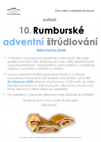 10.RUMBURSKÉ ADVENTNÍ ŠTRÚDLOVÁNÍ