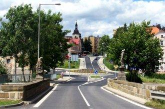 Kamenný most v Rumburku Pražská ul.